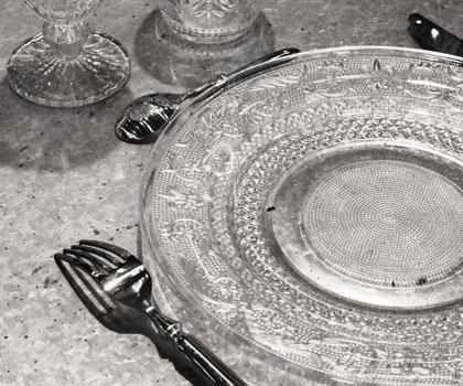 Art de la table cot decoration - Assiette cote table ...