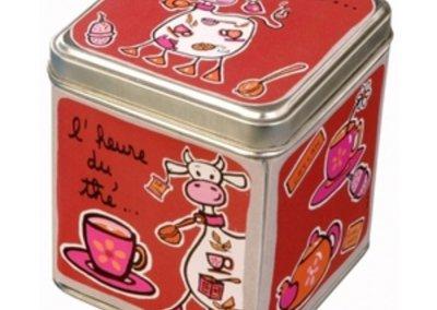 boite à thé fox trot