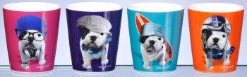 mugs chien fox trot