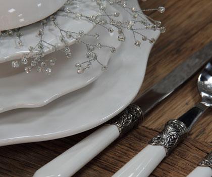 Art de la table cot decoration - Cote table vaisselle ...